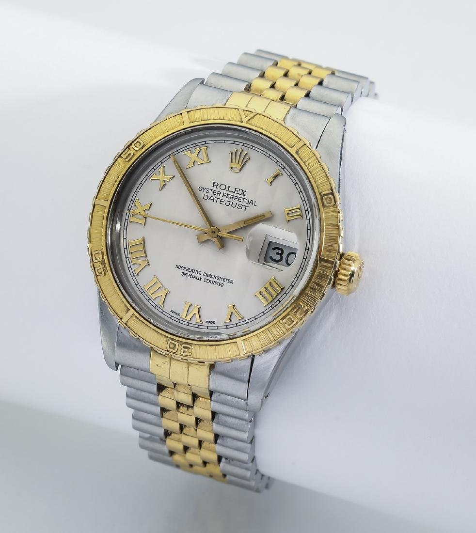 Rolex Oyster Perpetual Datejust, stainless and gold
