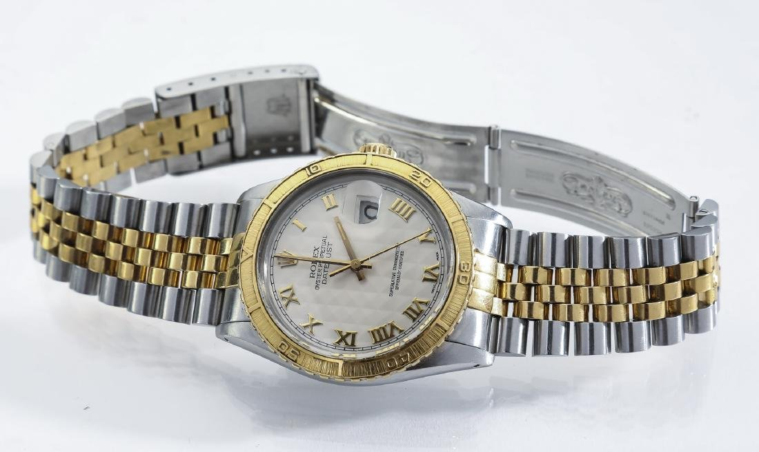 Rolex Oyster Perpetual Datejust, stainless and gold - 2