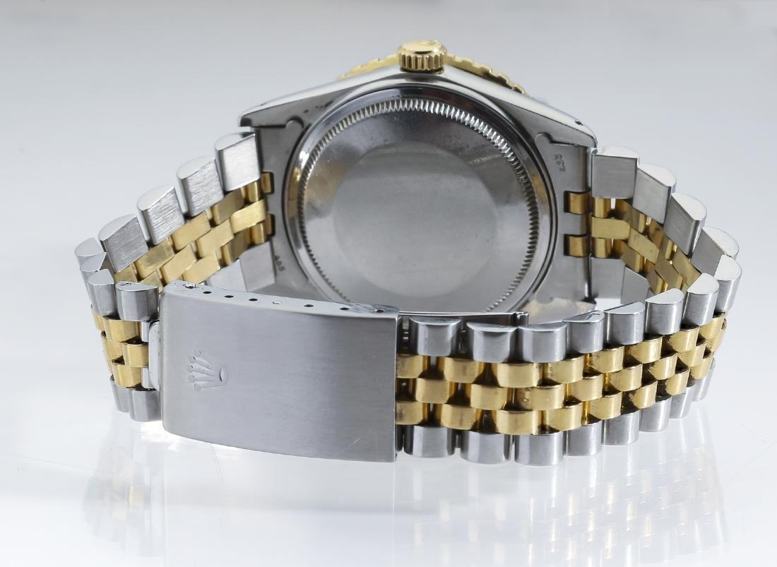 Rolex Oyster Perpetual Datejust, stainless and gold - 3