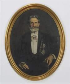 Early 20th c. portrait of explorer, Frank Vincent