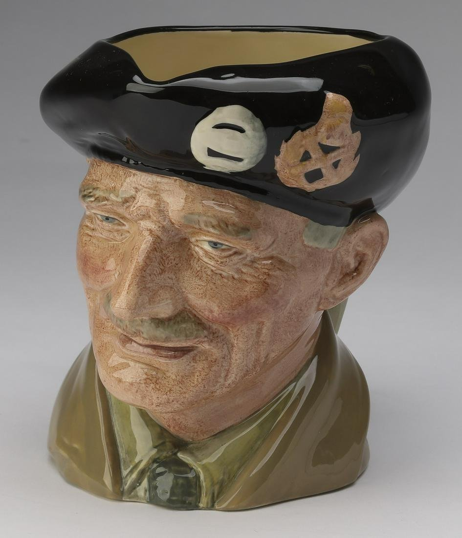 Royal Doulton Toby jug of Field Marshal Montgomery