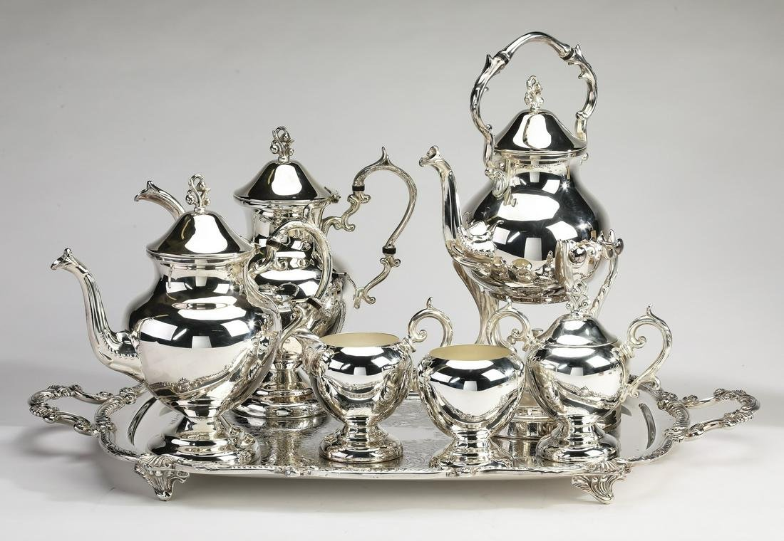 (7 pc.) Birmingham Silver Company tea service