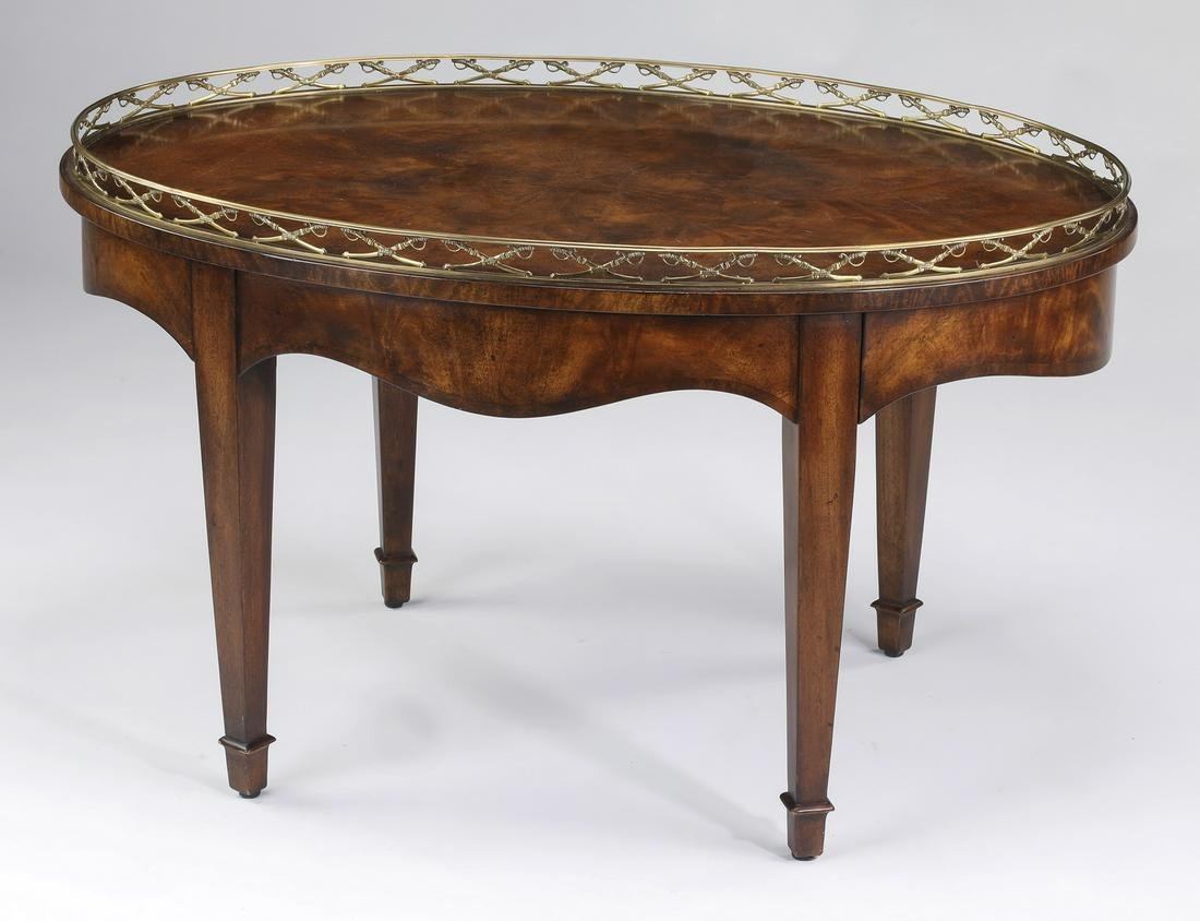 """Theodore Alexander 'Admiralty' low table 38""""w"""