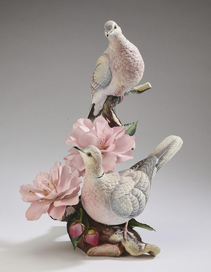 """Connoisseur of Malvern porcelain 'Devotion' 16""""h"""