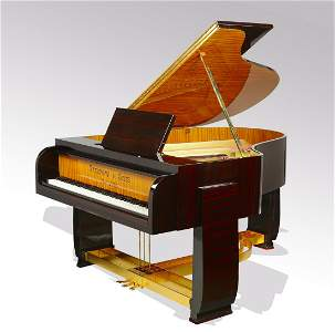 Rare Steinway & Sons Art Deco style grand piano