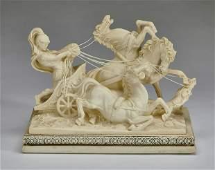 Amilcare Santini, Roman charioteer sculpture
