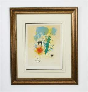 Joan Miro signed, numbered lithograph, 1961
