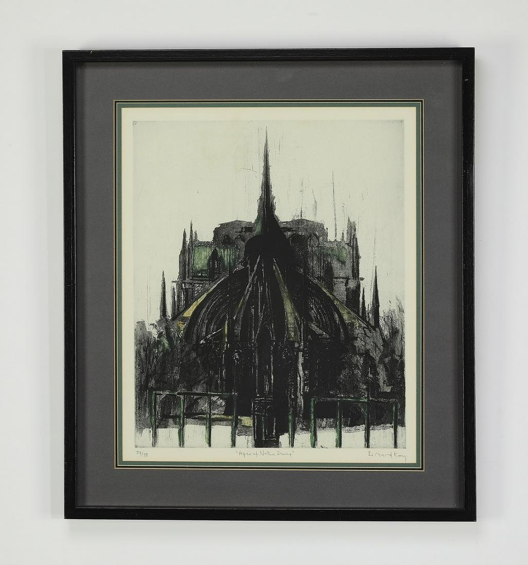 Signed Bernard Kay limited edition lithograph