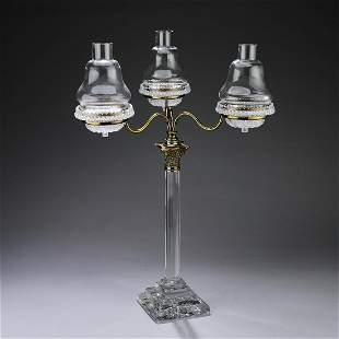 Clarke's 'Cricklite' three light 'fairy lamp'