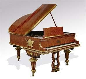 Steinway & Sons Model O art case grand piano w/ bench