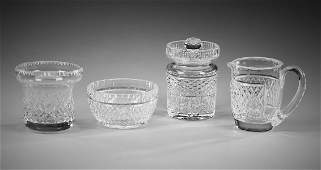 Waterford crystal 'Alana' table accessories