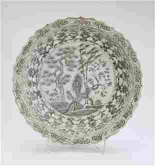 Chinese Ming style Three Friends of Winter charger