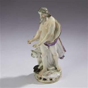 Samson porcelain figure of Zeus and Pegasus 19th c