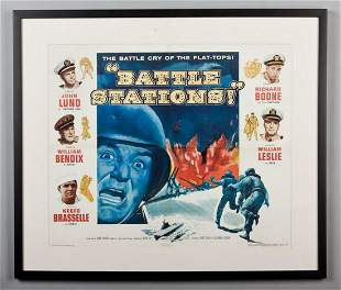 Vintage Battle Stations movie poster