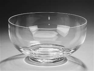 Tiffany crystal 'Georgetown' center bowl