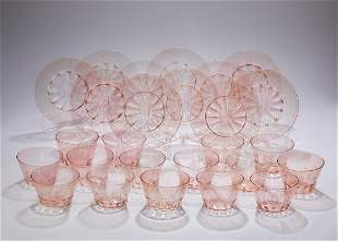 (23 pcs) Murano dessert coupes and underliners