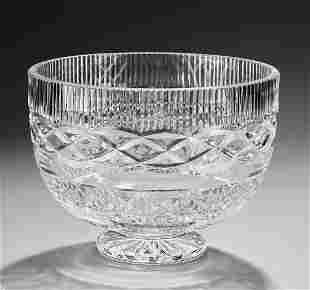 Waterford crystal 'Book of Kells' centerpiece bowl