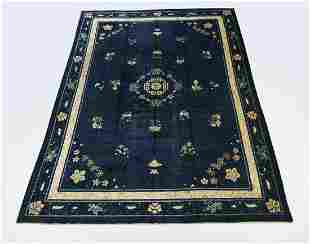 Chinese Art Deco hand knotted wool carpet, 14 x 10