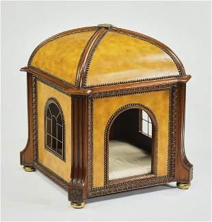 "Maitland Smith Venetian style pet bed, 33""h"