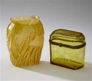 (2) Decorative glass articles