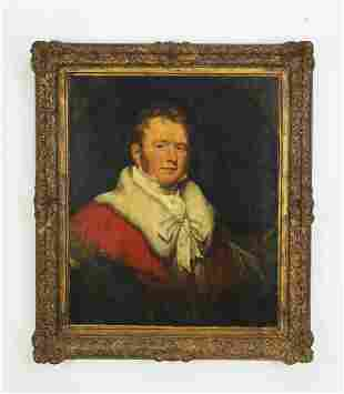19th c. British O/c portrait of a nobleman