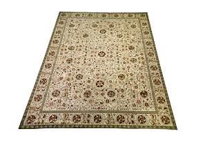 Elizabeth Eakins 'Cairo' hooked rug, 12 x 16