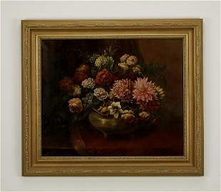 Early 20th c. G. D'Andrea signed O/c still life