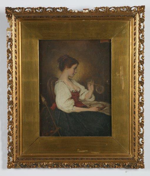 11: G. Heiman, oil on canvas