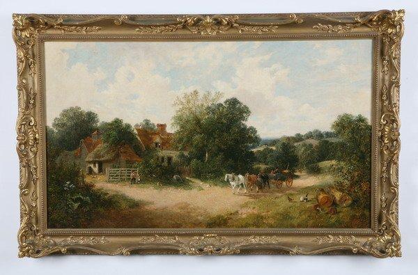 13: Edwin Meadows, oil on canvas