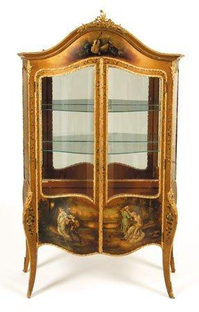 20: Louis XV-style vitrine