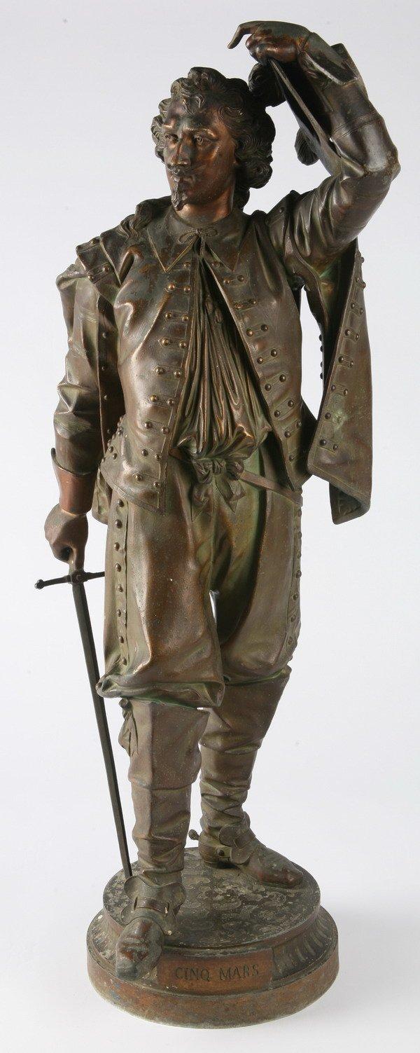 24: 19th century bronze figural sculpture