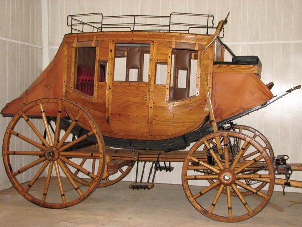 177: Wells Fargo Stagecoach