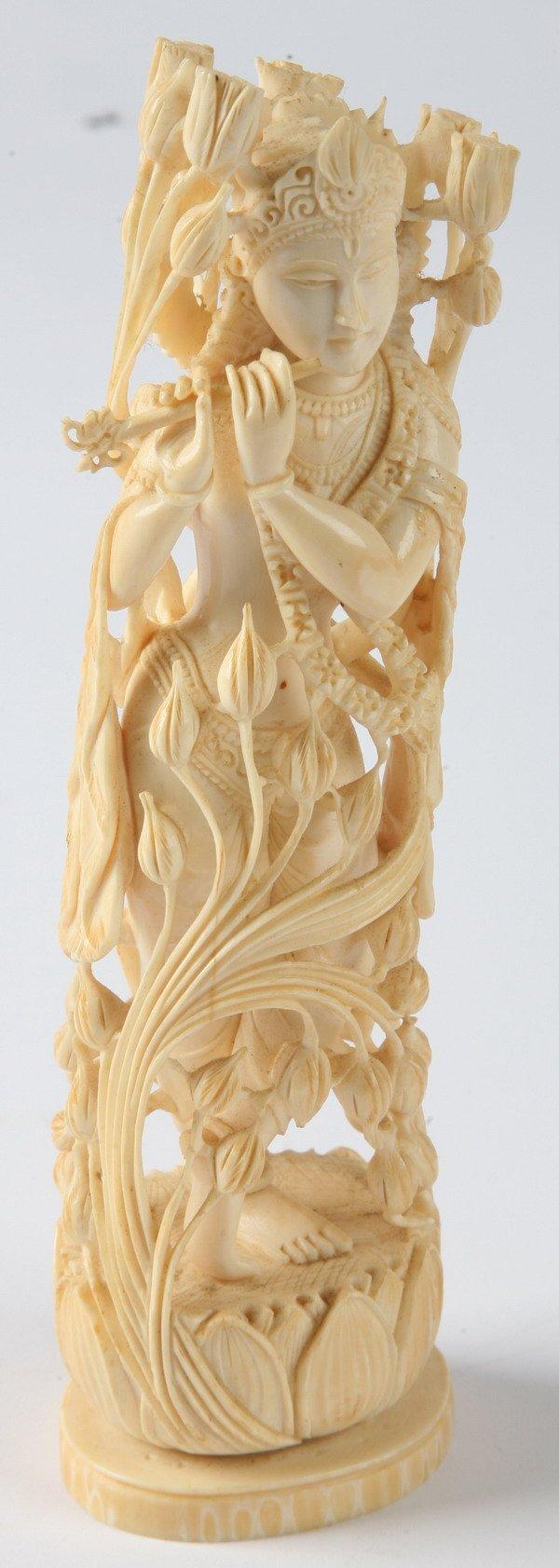 257: Vintage carved ivory
