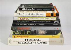 (10) African art and culture coffee table books