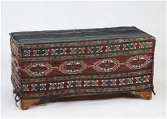 Late 19th c. hand woven Karabagh mafrash