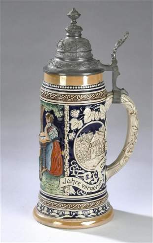 German stein attributed to Marzi & Remy