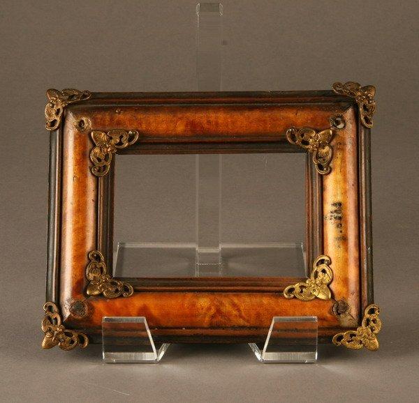 8: 19th c. Italian tortoiseshell frame