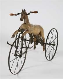 279: 19th c. English Victorian velocipede