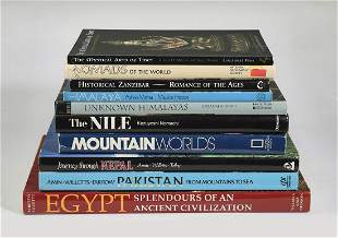 (10) World travel and culture coffee table books