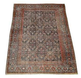 Hand knotted Persian Hamadan carpet, 11 x 9