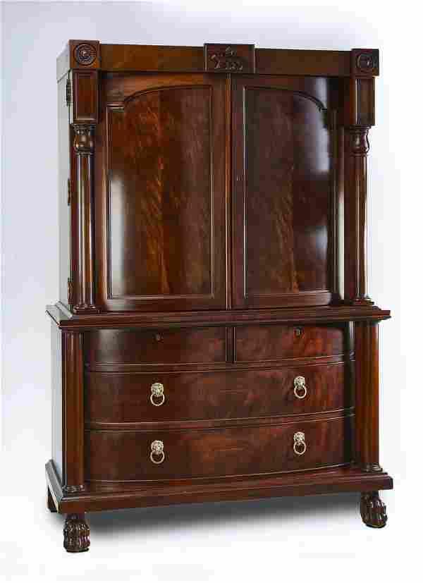 Ralph Lauren for Henredon mahogany cabinet