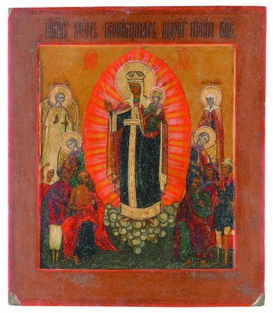 13: 18th century Russian icon