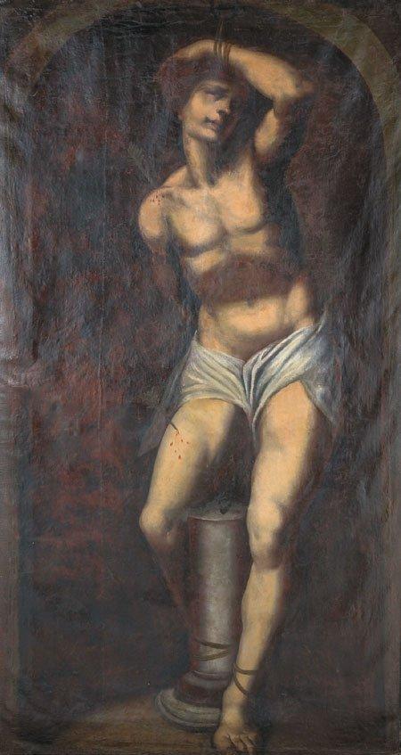 16: 18th century Italian oil on canvas, unsigned