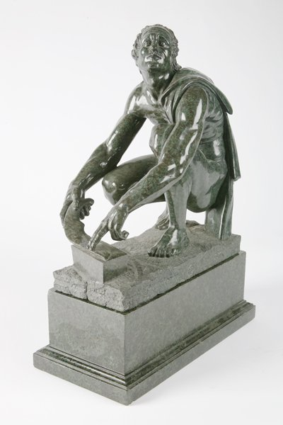 22: 19th century French marble sculpture