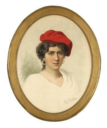 150: Early 20th c. Italian w/c, signed R. Pietrocola
