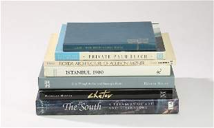 Group of (7) fine art and design coffee table books