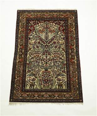 Circa 1930 PersianTabriz tree of life carpet, 7 x 5