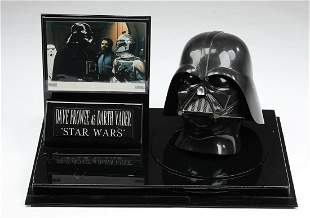 Dave Prowse signed replica Darth Vader helmet