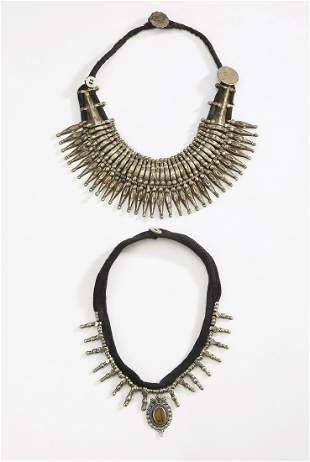 (2) Nepalese necklaces