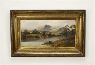 Signed Sidney Yates Johnson O/c landscape
